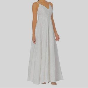 Calvin Klein embroidered formal gown size 12